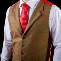 Tailored, bespoke waistcoats