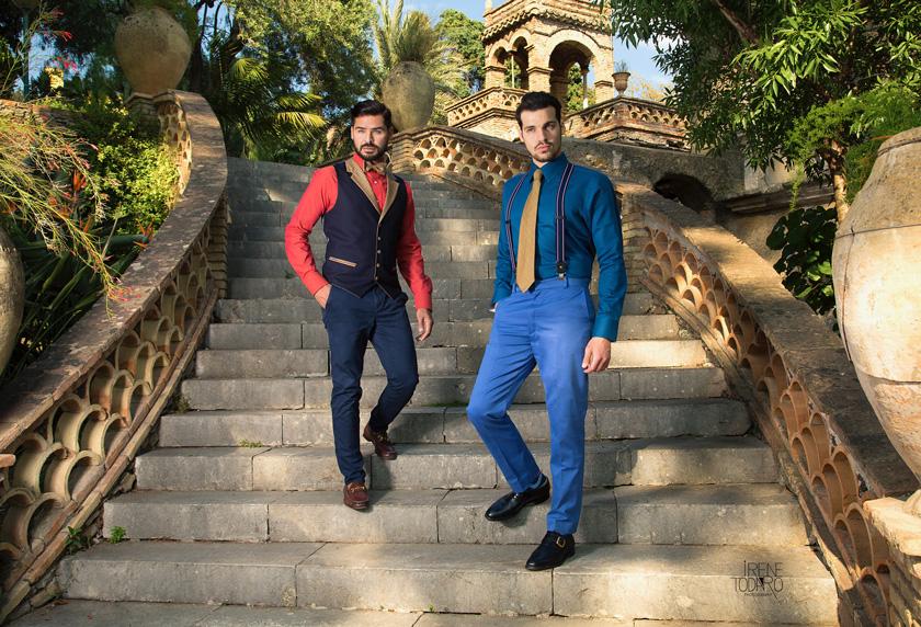 Quintessentially British tailoring meets Sicilian summer sunshine